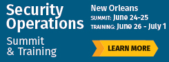 Security Operations Summit 2019 - New Orleans