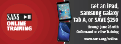 Get an iPad with Online Training