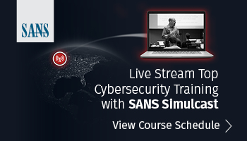 Information Security Training | SANS Cyber Security Certifications