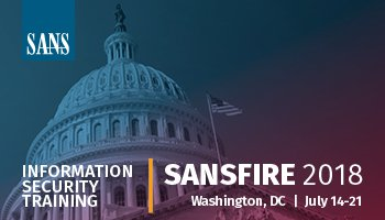 Sans information security training cyber certifications research sansfire 2018 malvernweather Gallery
