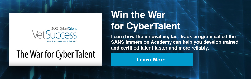 Win the War for CyberTalent
