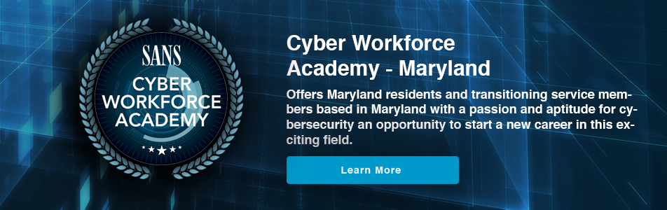 Cyber Workforce Academy - Maryland