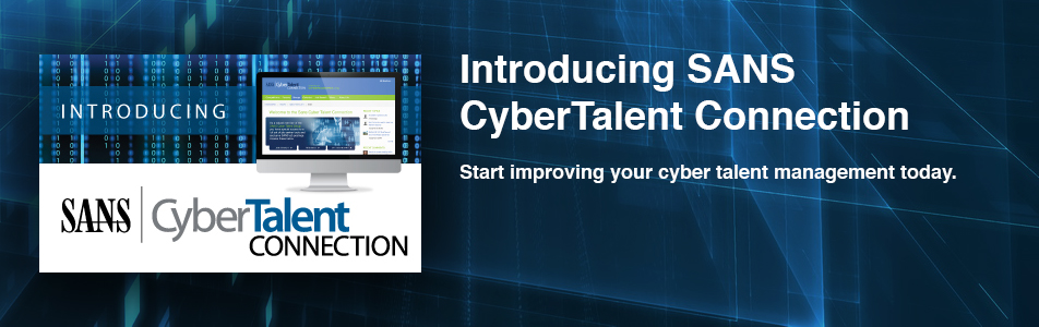 Introducing SANS CyberTalent Connection