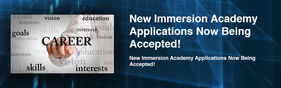 New Immersion Academy Applications Now Being Accepted!