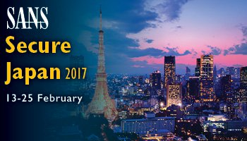 Welcome to  Secure Japan 2017