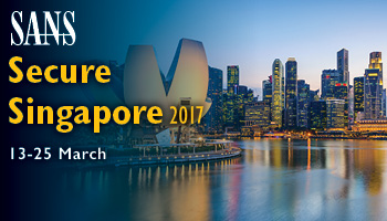 Welcome to  Secure Singapore 2017
