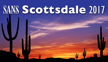 Welcome to  Scottsdale 2017