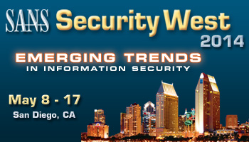 Welcome to  Security West 2014