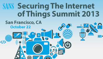 Welcome to Securing the Internet of Things