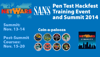 Welcome to Pen Test Hackfest Summit & Training