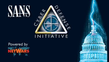 Welcome to  Cyber Defense Initiative 2013
