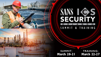 Welcome to ICS Security Summit & Training