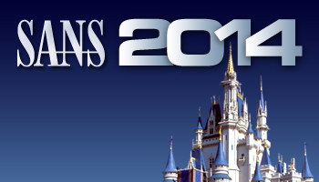 SANS 2014 - Disney World Castle