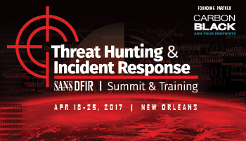 Welcome to Threat Hunting and IR Summit
