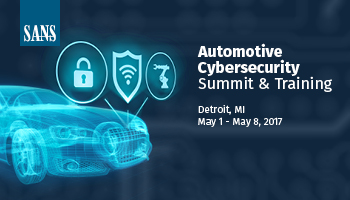 Welcome to Automotive Cybersecurity Summit