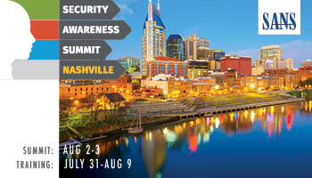 Welcome to Security Awareness Summit