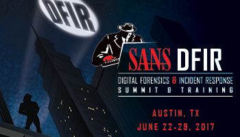 Welcome to DFIR Summit & Training 2017