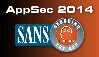 Welcome to AppSec 2014