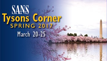 Welcome to  Tysons Corner Spring 2017