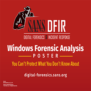 Windows Forensic Analysis