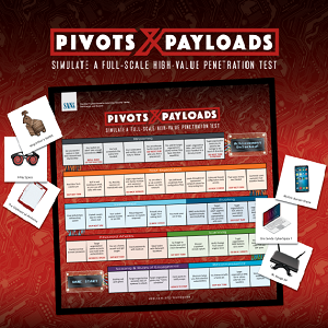 Pen Test: Pivots and Payloads