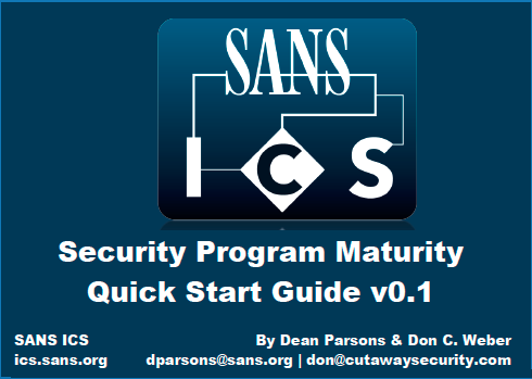 ICS Security Program Guide
