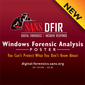 Sans information security resources windows forensics evidence of malvernweather Images