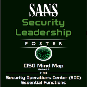 SANS Security Leadership Poster